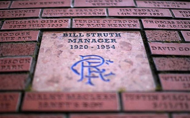 Bill Struth Brick Panel